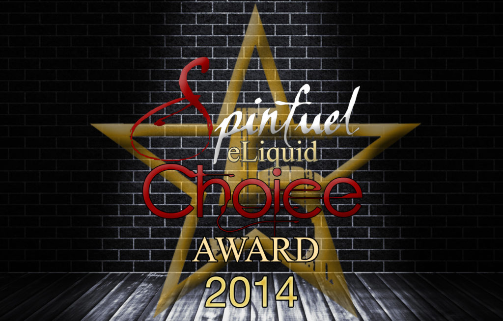 Spinfuel 2014 eLiquid of the Year Awards!