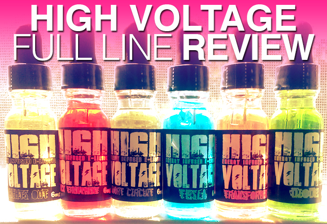 Dailyvapetv Does High Voltage Ejuice Review Spinfuel Vape