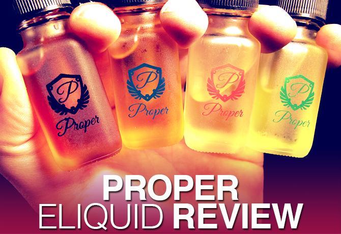 proper eliquid review daily vape tv spinfuel vape