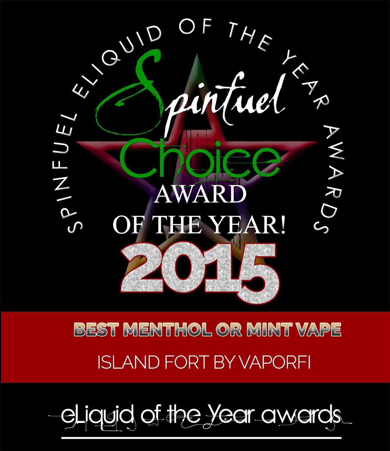 MENTHOL-MINT-ISLAND-VAPORFI - Spinfuel Choice Award 2015