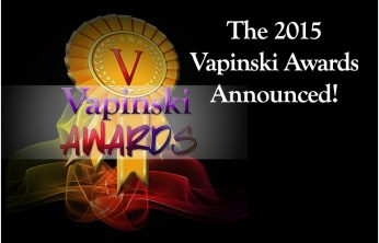 The Vapinski Awards! Best eLiquids for 2015 as reviewed by Vapinski