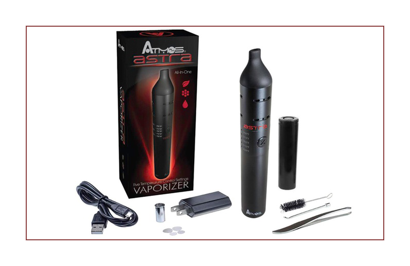 The Atmos Astra Dry Herb Vaporizer, by J. C. Martin, III