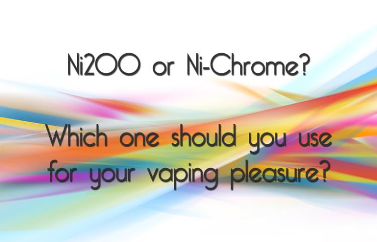 Ni200 and Ni-Chrome