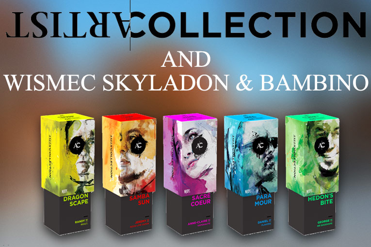 WISMEC Skyladon/Bambino + NJOY Artist Collection | Spinfuel VAPE