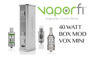 40 Watt Box Mod - The VOX from Vaporfi
