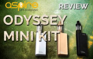 Aspire Odyssey Mini Starter Kit REVIEW SPINFUEL EMAGAZINE