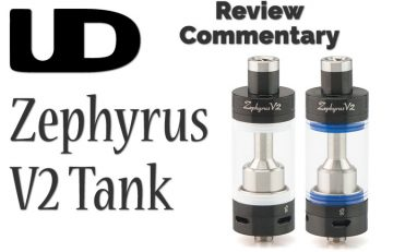 Youde UD Zephyrus V2 – A Review/Commentary Spinfuel eMagazine – John Manzione - Publisher