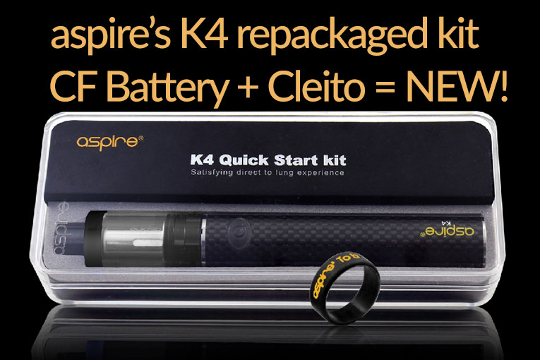 The Aspire K4 Quick Start Kit Review Spinfuel eMagazine