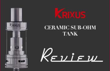 The Horizon Krixus Ceramic Tank Review by Tom McBride for Spinfuel eMagazine