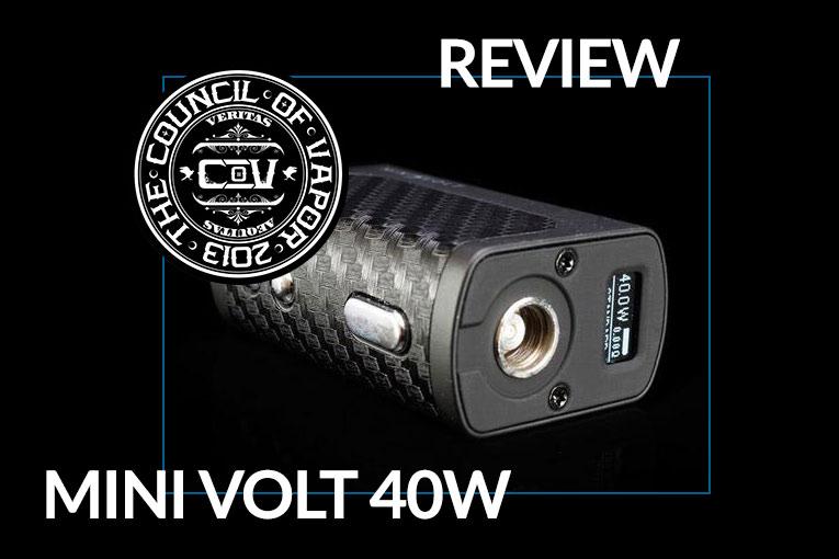 Cov Mini Volt Box Mod And Vengeance Tank Review Spinfuel Vape