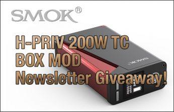 SMOK H-Priv 220W Giveaway