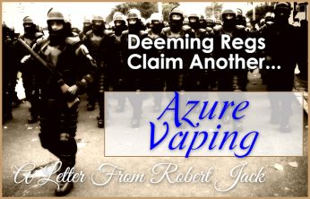 Azure Vaping Closes Doors - FDA Causes business to shutter