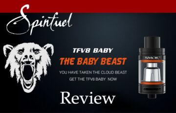 SMOK TFV8 Baby Beast REVIEW SPINFUEL VAPE MAGAZINE