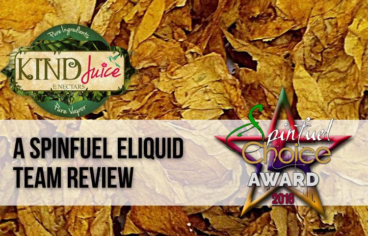 An Vape Juice Review - Kind Juice Review – SPINFUEL VAPE MAGAZINE