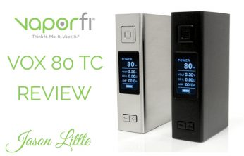 Vaporfi VOX 80 TC Box Mod Review – Spinfuel VAPE Magazine