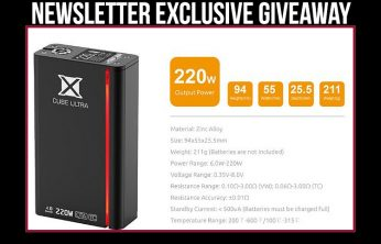SMOK X CUBE ULTRA GIVEAWAY