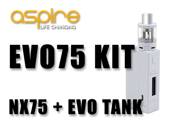 Aspire EVO75 Box Mod AIO Kit Review | Spinfuel VAPE