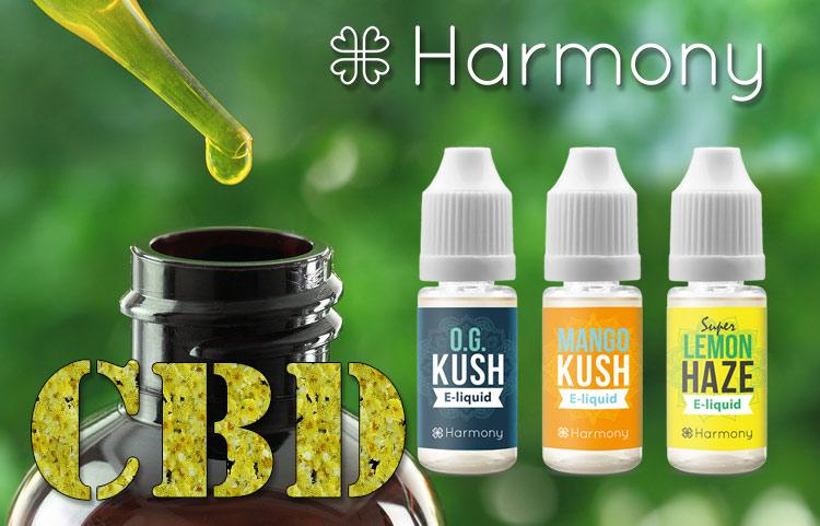 Harmony CBD E-juice Review - Spinfuel Magazine