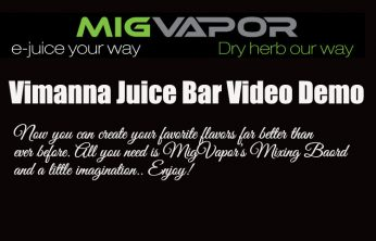 MigVapor Vimanna Juice Bar Review