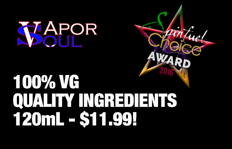 Vapor Soul Eliquid Spinfuel Team Review – Spinfuel VAPE Magazine