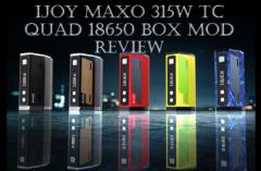 IJOY MAXO 315 TC Box Mod - Spinfuel VAPE Magazine