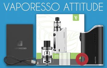 Vaporesso Attitude Starter Kit Review by Spinfuel VAPE Magazine
