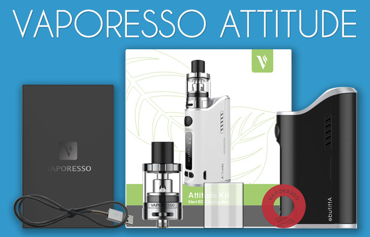 Vaporesso Attitude Starter Kit Review by Spinfuel VAPE Magazine