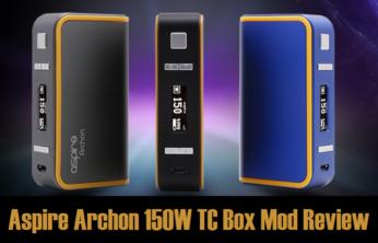 Aspire Archon 150W TC Box Mod - Spinfuel VAPE Magazine