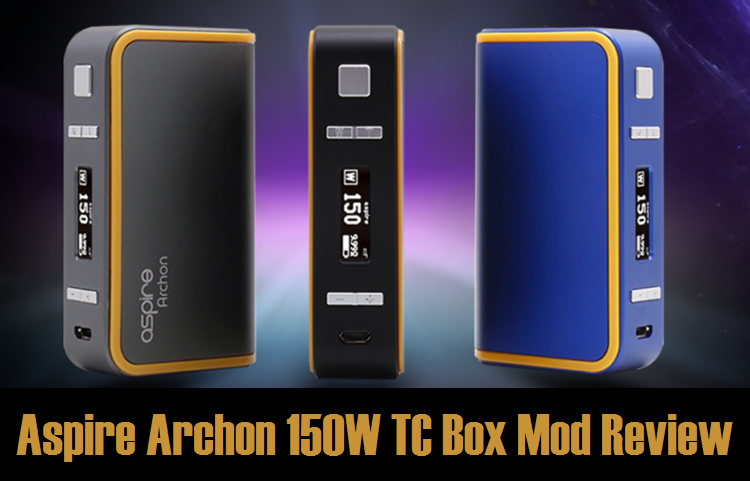 Aspire Archon 150W TC Box Mod - Spinfuel VAPE Magazine