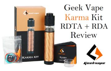 Geek Vape Karma Mechanical Kit - Spinfuel VAPE Magazine