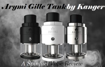 Kanger Arymi Gille Sub-Ohm Tank - Spinfuel VAPE Magazine