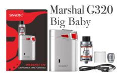 SMOK Marshal G320 TC Starter Kit Review Spinfuel VAPE Magazine