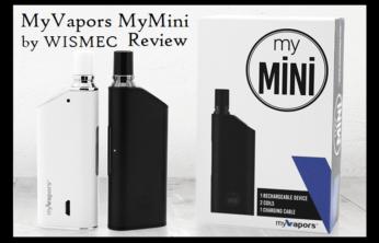 myVapors myMini Kit - Spinfuel VAPE Magazine