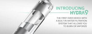 Cloudious9 Hydrology9 Water Filtration Vaporizer - Spinfuel VAPE Magazine