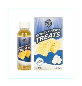 Ethos Crispy Treats Eliquid Review – SPINFUEL VAPE MAGAZINE