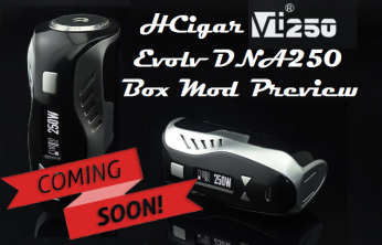 HCigar VT250 DNA250 TC Box Mod - Spinfuel VAPE Magazine