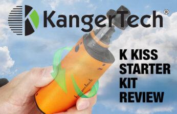 Kanger K Kiss Starter Kit Review Spinfuel VAPE Magazine