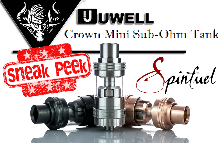 Uwell Crown Mini Sub-Ohm Tank - Spinfuel VAPE Magazine