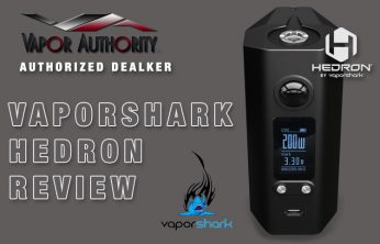 Vaporshark Hedron 200W Box Mod Spinfuel VAPE Magazine Review
