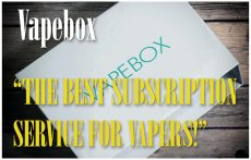 VAPEBOX Subscription Service Review Spinfuel VAPE Magazine