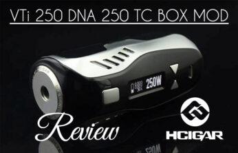 HCigar VT250 DNA 250 TC Box Mod Review – SPINFUEL VAPE MAGAZINE