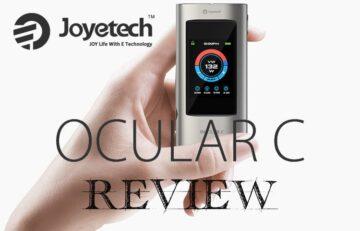 Joyetech Ocular C 150W TC Box Mod Review - Spinfuel VAPE Magazine