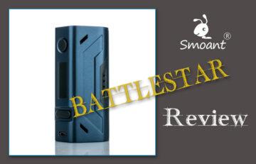 Smoant Battlestar 200W TC Box Mod Review SPINFUEL VAPE MAGAZINE