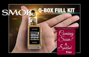 PREVIEW: SMOK QBox 50W TC Box Mod Kit - Spinfuel VAPE Magazine