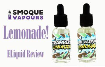 Smoque Vapours Lemonade Delights Eliquid Review SPINFUEL VAPE MAGAZINE