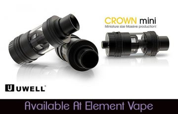 UWELL Crown Mini Sub-Ohm Tank Review Spinfuel Vape Magazine