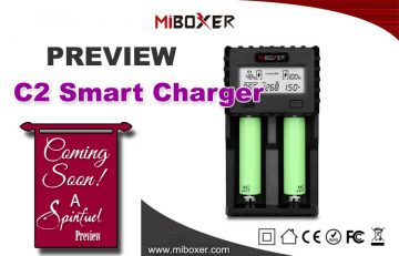 Review - MIBOXER C2 Smart Charger for Vapers - SPINFUEL VAPE MAGAZINE