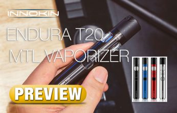 PREVIEW: Endura T20 Vape Pen for Flavor Chasers - Spinfuel VAPE Magazine