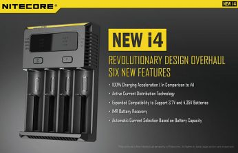 Nitecore i4 Cell Charger for 2017 A New Review - Spinfuel VAPE Magazine
