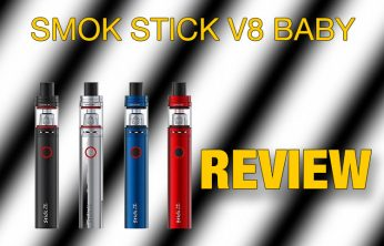 SMOK Stick V8 Baby Starter Kit Review SPINFUEL VAPE MAGAZINE